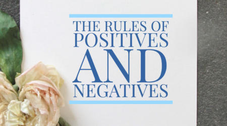 negatives and positoives