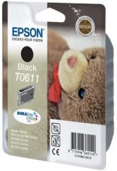 Ink Black 8ml Inkjet Printer Ink Office Products Epson T0611