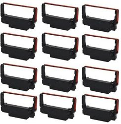 12pack Gorilla Supply ERC 30 34 38 Ink Ribbon Replacement fo
