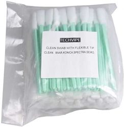100 PCS Foam Cleaning Swabs for Epson-Roland-Mimaki-Mutoh In