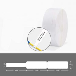 KUNHEWUHUA 65pcs Self Adhesive Cable Labels for D11 Portable