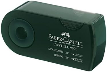 Pencil Sharpeners: Faber Castell Double Hole Sharpener Green FC582800
