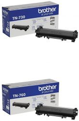 Brother Genuine Toner Cartridge Bundle with Standard Yield T