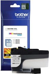 Brother Genuine LC3037BK Single Pack Super High-Yield Black