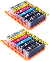 12 PerfectPrint Compatible Ink Cartridge Replace PGI570 CLI5