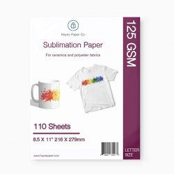 HAYES PAPER CO Sublimation Paper for Heat Transfer onto Shi