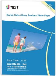 85x11 Thick Cardstock Photo Paper Double Sided Glossy 118M
