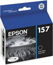 Epson T157120 157 Ultrachrome K3 Ink Photo Black Inkjet P