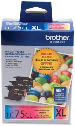 Brother Genuine High Yield Color Ink Cartridge LC753PKS Re
