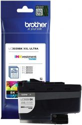 Brother Genuine LC3039BK Single Pack Ultra High-Yield Black