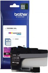 Brother Genuine LC3033BK Single Pack Super High-Yield Black