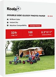 Koala Double Side Glossy Photo Paper 85x11 Inches 120gsm 10