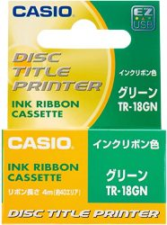 Disc Title Printer Thermal Ink Ribbon Cartridge for Casio CW