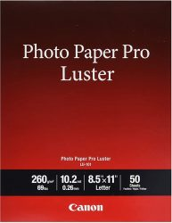 Canon Pro Luster Inkjet Photo Paper 85-Inch X 11-Inch Whi