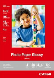Canon Photo Paper Glossy 4 x 6 Inches 100 Sheets 0775B022
