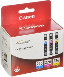 Canon CLI226 3 Color Multi Pack Compatible to iP4820 MG5220